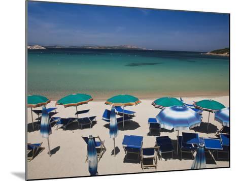 Resort Beach, Baja Sardinia, Sardinia, Italy-Walter Bibikow-Mounted Photographic Print