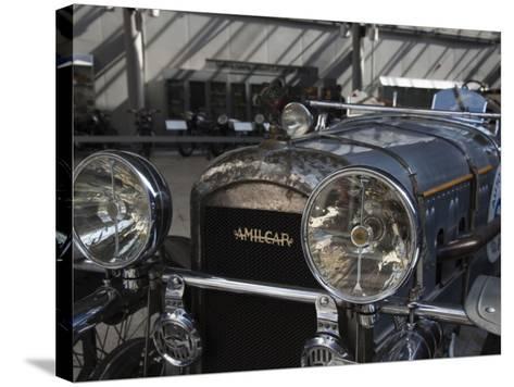 1930s-Era Amilcar Racing Car, Riga Motor Museum, Riga, Latvia-Walter Bibikow-Stretched Canvas Print