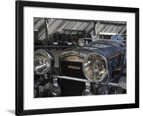 1930s-Era Amilcar Racing Car, Riga Motor Museum, Riga, Latvia-Walter Bibikow-Framed Art Print
