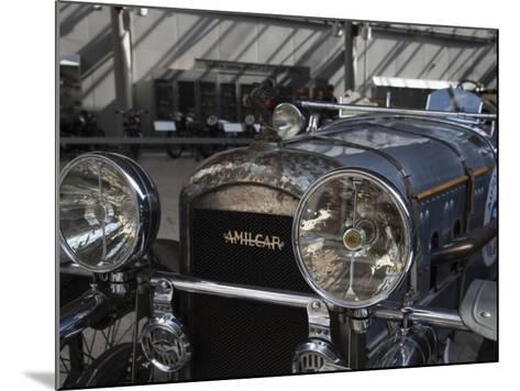 1930s-Era Amilcar Racing Car, Riga Motor Museum, Riga, Latvia-Walter Bibikow-Mounted Photographic Print