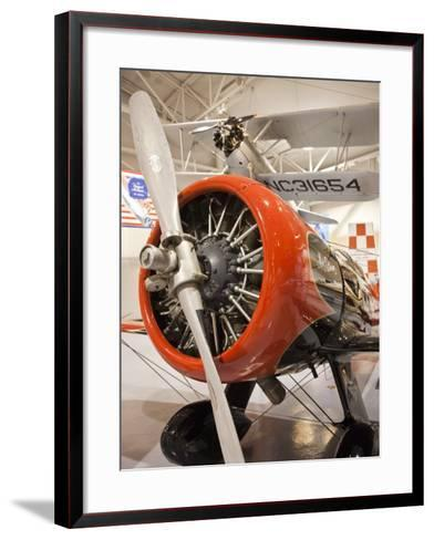 1930s-Era Number 44 We Will Racing Airplane, Weddel-Williams Air Racing Museum, Patterson, LA-Walter Bibikow-Framed Art Print