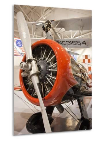 1930s-Era Number 44 We Will Racing Airplane, Weddel-Williams Air Racing Museum, Patterson, LA-Walter Bibikow-Metal Print