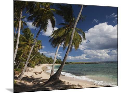 Playa El Frances Beach, El Frances, Samana Peninsula, Dominican Republic-Walter Bibikow-Mounted Photographic Print
