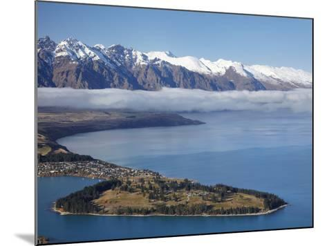 The Remarkables, Lake Wakatipu, and Queenstown, South Island, New Zealand-David Wall-Mounted Photographic Print