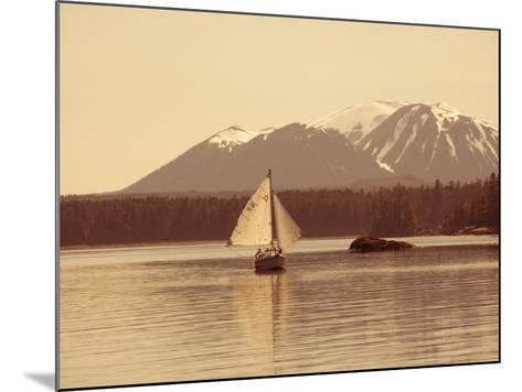 Mt. Edgecumbe, Sitka, Alaska, USA-Douglas Peebles-Mounted Photographic Print