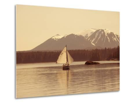 Mt. Edgecumbe, Sitka, Alaska, USA-Douglas Peebles-Metal Print