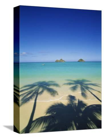Lanikai Beach, Kailua, Hawaii, USA-Douglas Peebles-Stretched Canvas Print