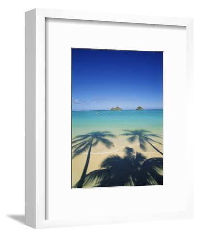 Lanikai Beach, Kailua, Hawaii, USA-Douglas Peebles-Framed Art Print