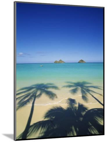 Lanikai Beach, Kailua, Hawaii, USA-Douglas Peebles-Mounted Photographic Print