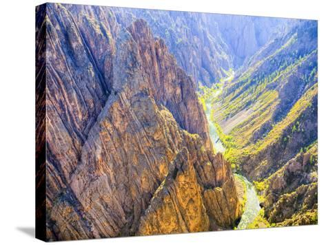 Black Canyon of the Gunnison National Park, Colorado, USA-Jamie & Judy Wild-Stretched Canvas Print