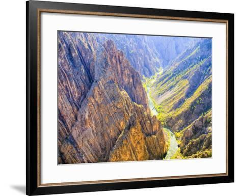 Black Canyon of the Gunnison National Park, Colorado, USA-Jamie & Judy Wild-Framed Art Print