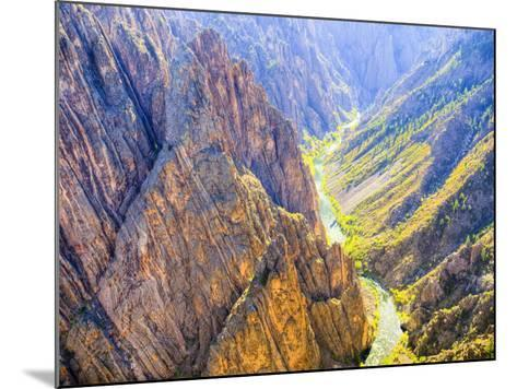 Black Canyon of the Gunnison National Park, Colorado, USA-Jamie & Judy Wild-Mounted Photographic Print