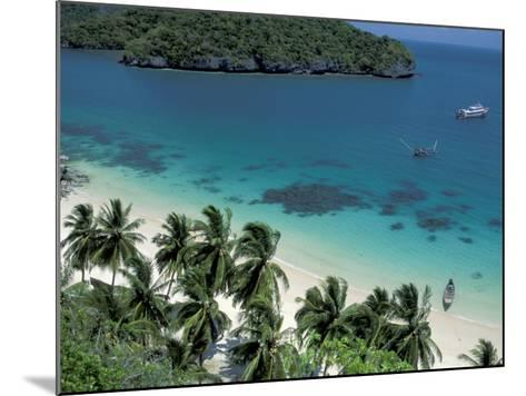 View of Beach, Ko Samui Island, Thailand-Nik Wheeler-Mounted Photographic Print