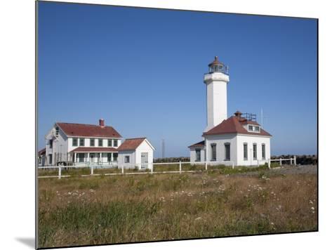 Point Wilson Lighthouse, Port Townsend, Washington, USA-Jamie & Judy Wild-Mounted Photographic Print