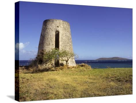 Carden Plantation Sugar Mill on Teague Bay, St. Croix, US Virgin Islands-Alison Jones-Stretched Canvas Print