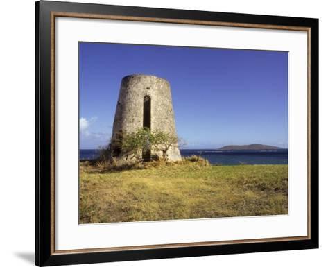 Carden Plantation Sugar Mill on Teague Bay, St. Croix, US Virgin Islands-Alison Jones-Framed Art Print