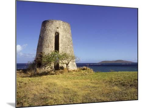 Carden Plantation Sugar Mill on Teague Bay, St. Croix, US Virgin Islands-Alison Jones-Mounted Photographic Print