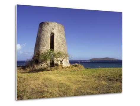 Carden Plantation Sugar Mill on Teague Bay, St. Croix, US Virgin Islands-Alison Jones-Metal Print