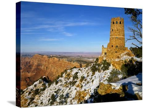Painted Desert and Marble Canyon, Grand Canyon National Park, Arizona, USA-Bernard Friel-Stretched Canvas Print