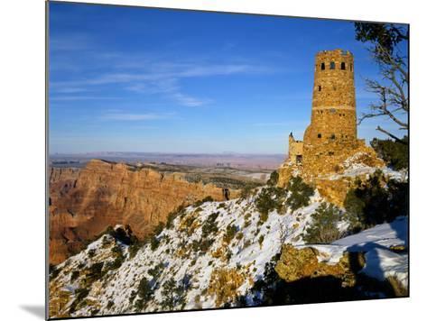 Painted Desert and Marble Canyon, Grand Canyon National Park, Arizona, USA-Bernard Friel-Mounted Photographic Print