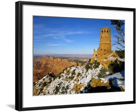 Painted Desert and Marble Canyon, Grand Canyon National Park, Arizona, USA-Bernard Friel-Framed Art Print