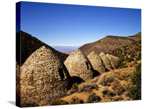 Charcoal Kilns Near Telescope Peak in the Panamint Mountains, Death Valley National Park, CA-Bernard Friel-Stretched Canvas Print