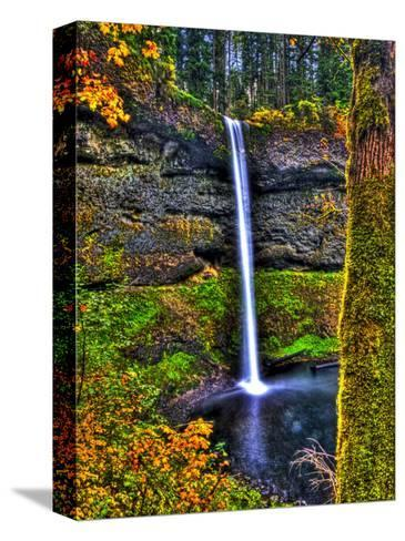 South Falls at Silver Falls State Park, Oregon, USA-Joe Restuccia III-Stretched Canvas Print