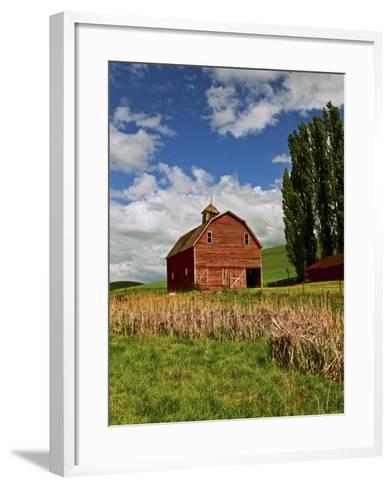 A Ride Through the Farm Country of Palouse, Washington State, USA-Joe Restuccia III-Framed Art Print