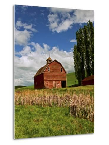 A Ride Through the Farm Country of Palouse, Washington State, USA-Joe Restuccia III-Metal Print