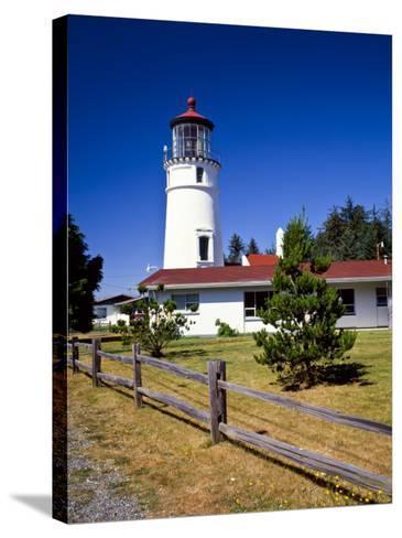 Cape Blanco Lighthouse, Port Orford, Oregon, USA-Bernard Friel-Stretched Canvas Print