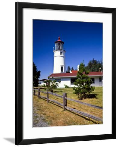 Cape Blanco Lighthouse, Port Orford, Oregon, USA-Bernard Friel-Framed Art Print
