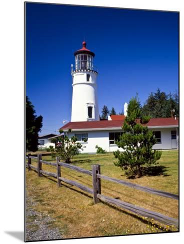 Cape Blanco Lighthouse, Port Orford, Oregon, USA-Bernard Friel-Mounted Photographic Print