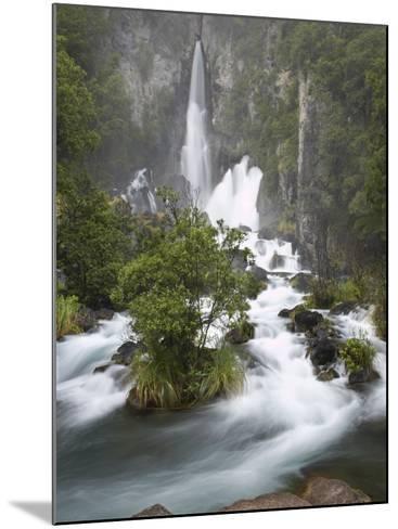 Tarawera Falls, Tarawera River, North Island, New Zealand-David Wall-Mounted Photographic Print