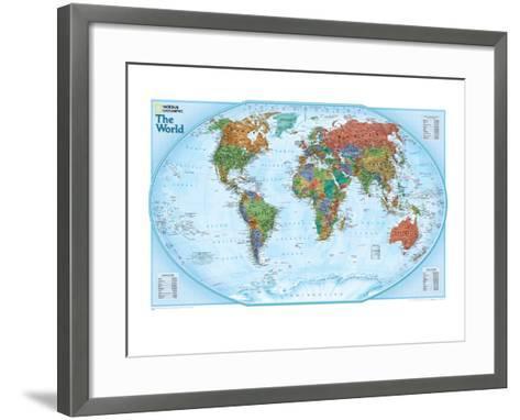 World explorer map art print by national geographic maps the new world explorer map national geographic maps framed art print gumiabroncs Images