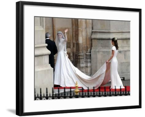 The Royal Wedding of Prince William and Kate Middleton in London, Friday April 29th, 2011--Framed Art Print