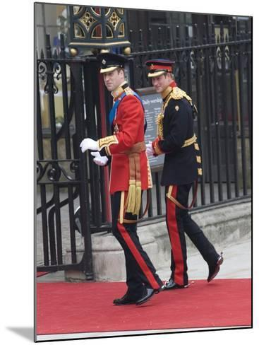 The Royal Wedding of Prince William and Kate Middleton in London, Friday April 29th, 2011--Mounted Photographic Print