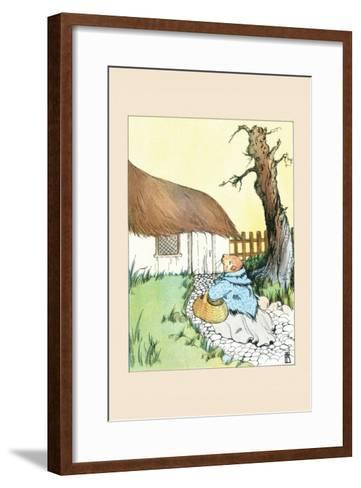 Poor Guinea Pig-Frances Beem-Framed Art Print