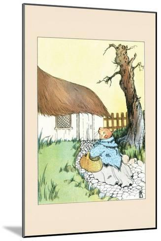 Poor Guinea Pig-Frances Beem-Mounted Art Print