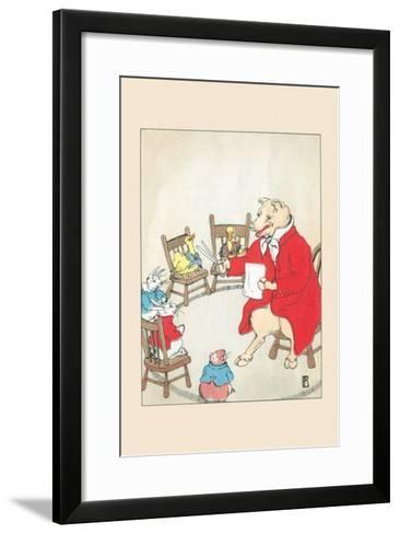 Volunteer Teacher-Frances Beem-Framed Art Print