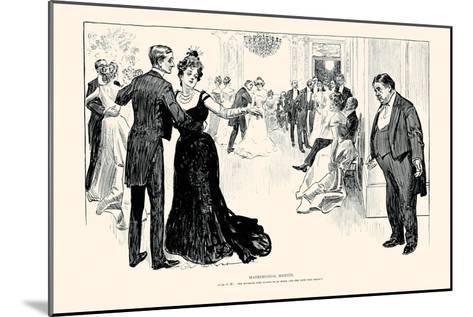 Matrimonial Misfits-Charles Dana Gibson-Mounted Art Print
