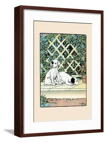 Stay And Watch the House-Julia Dyar Hardy-Framed Art Print