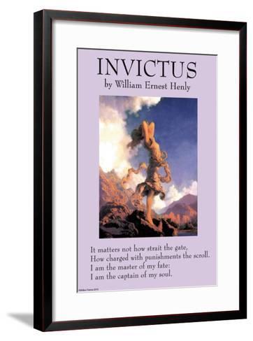 Invictus--Framed Art Print