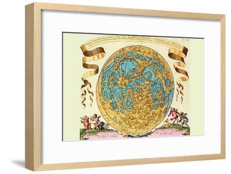 The Lunar Surface-Joanne Hevel-Framed Art Print