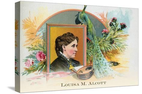 Louisa M. Alcott--Stretched Canvas Print