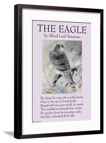 The Eagle--Framed Art Print