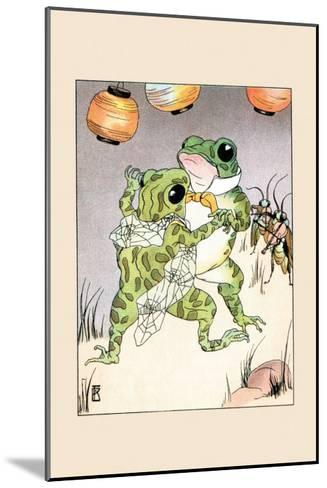 Dance With Billy Bullfrog-Frances Beem-Mounted Art Print