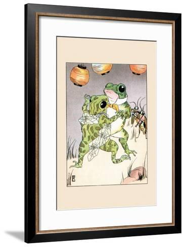 Dance With Billy Bullfrog-Frances Beem-Framed Art Print