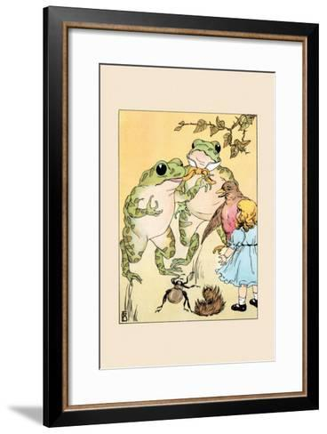 Thank You Friends-Frances Beem-Framed Art Print