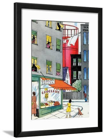 Come Out And Play-Julia Letheld Hahn-Framed Art Print
