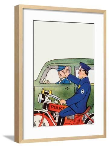 Pull Over-Julia Letheld Hahn-Framed Art Print